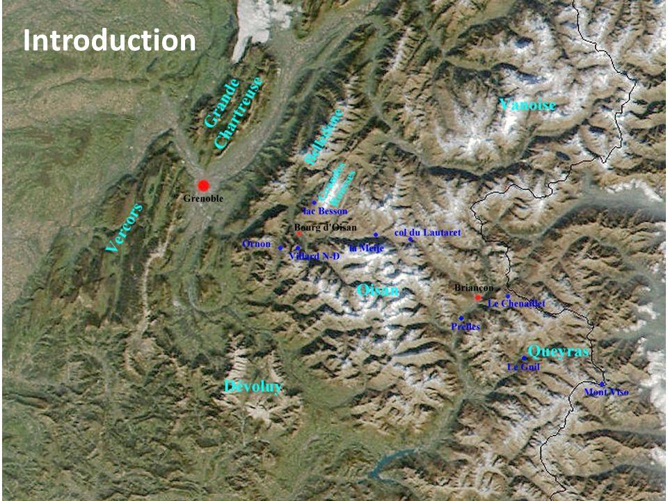 Interprétation : Les massifs cristallins des Alpes et les épais dépôts sédimentaires sont danciens blocs basculés : ce sont les traces de la marge passive dun ancien océan.
