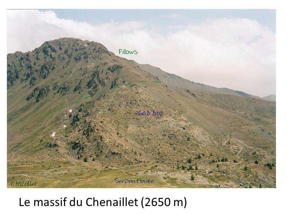Le massif du Chenaillet (2650 m)
