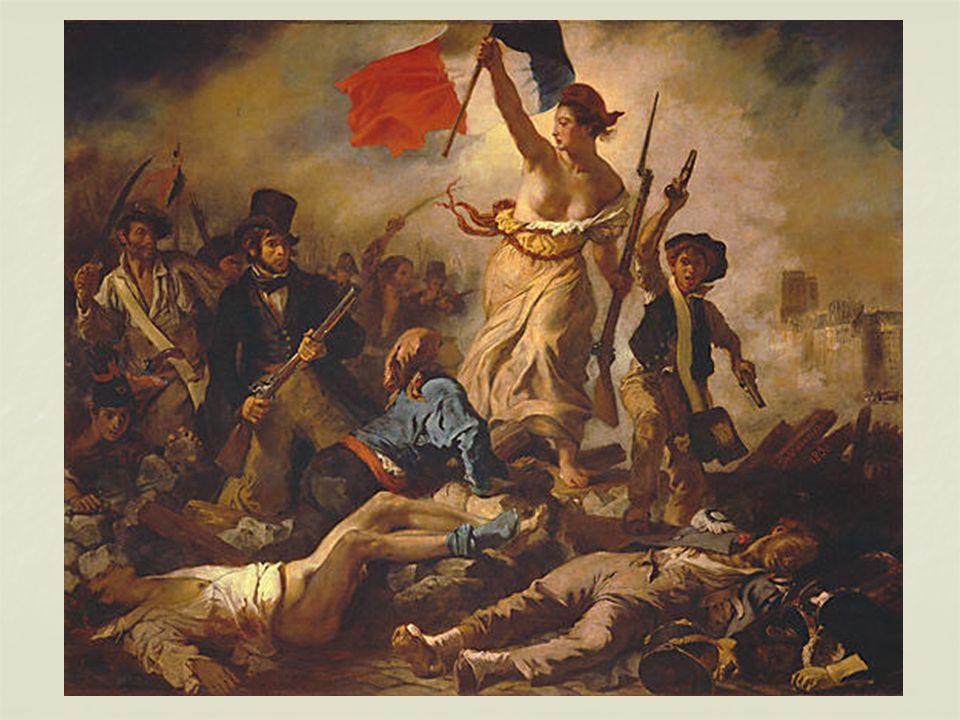 La Liberté guidant le peuple, le 28 juillet 1830 Tableau dEugène Delacroix (1798 – 1863) peint en 1831.