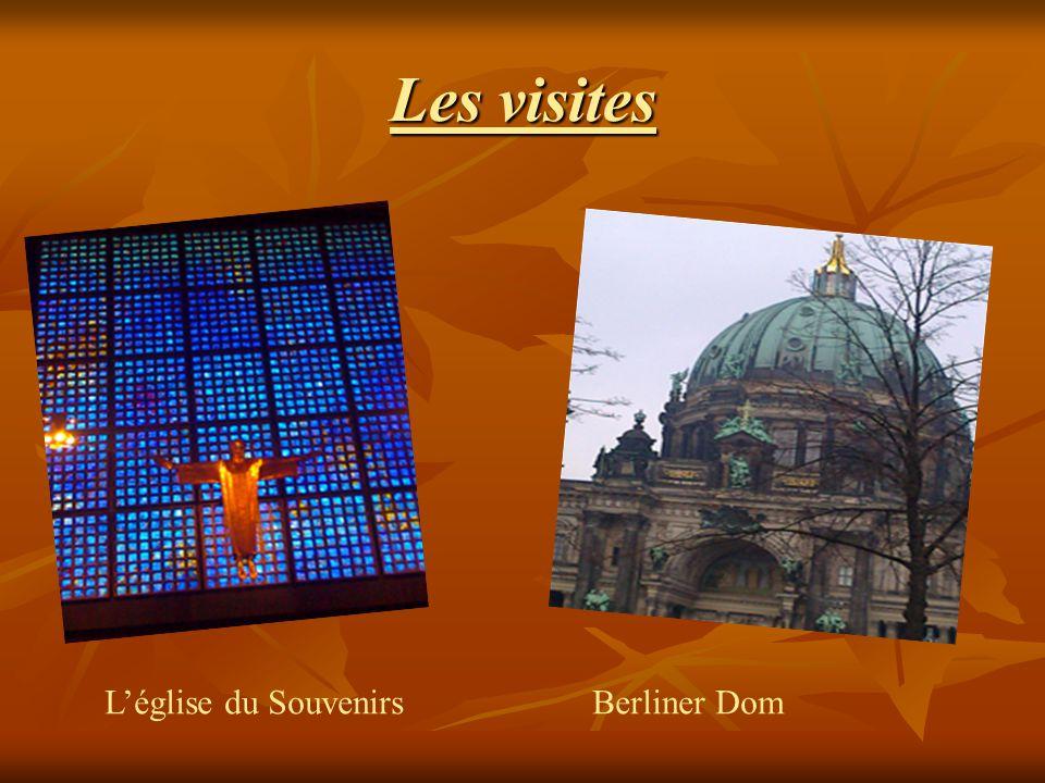 Les visites Léglise du SouvenirsBerliner Dom