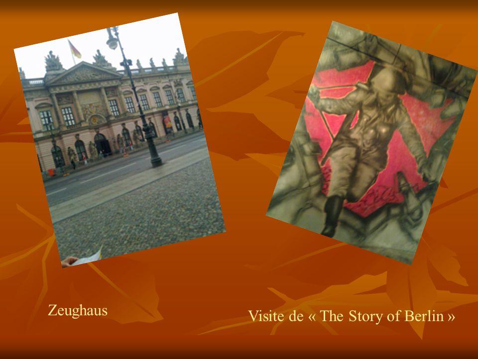 Zeughaus Visite de « The Story of Berlin »