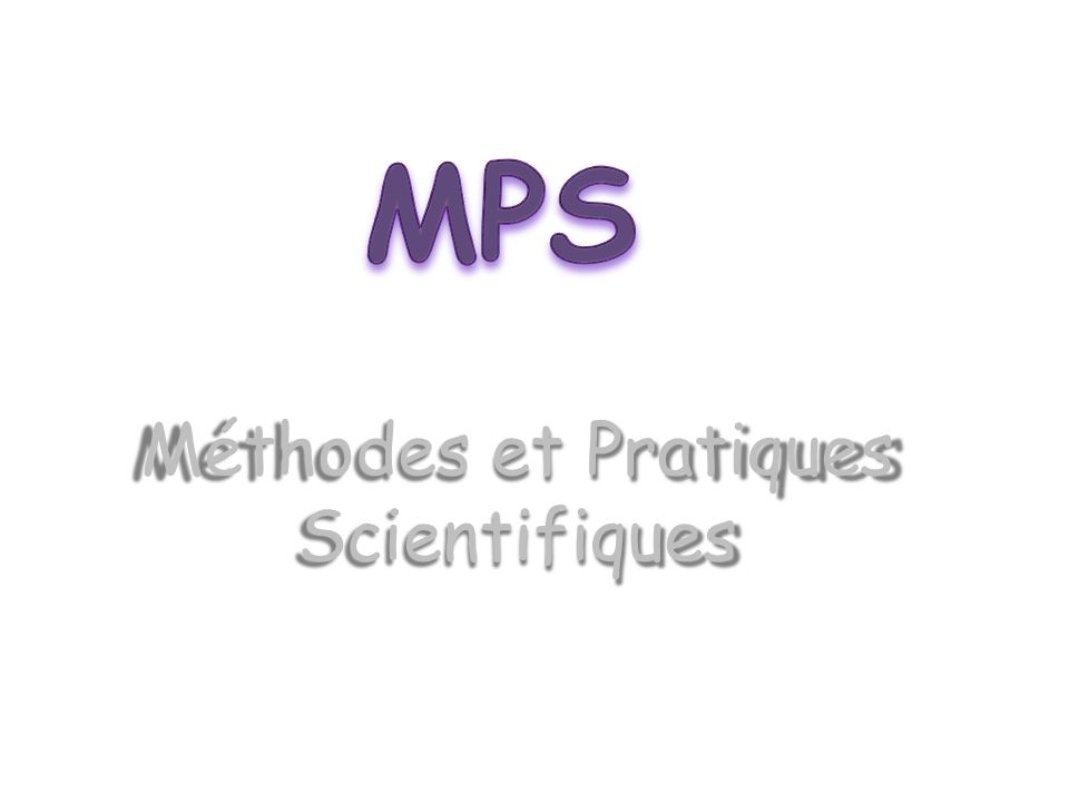 Lenseignement dexploration « méthodes et pratiques scientifiques » permettra aux élèves de découvrir différents domaines des Mathématiques, des Sciences Physiques et chimiques.