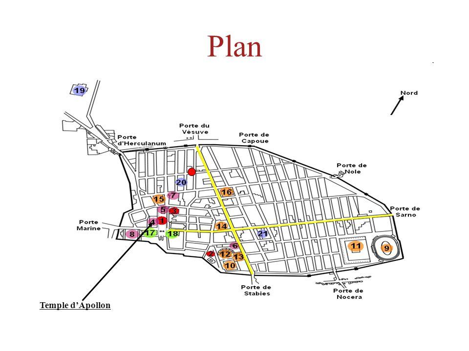 Plan Temple dApollon
