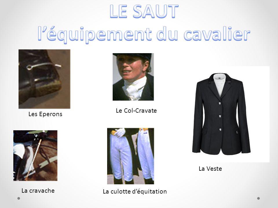 Le Col-Cravate Les Eperons La cravache La Veste La culotte déquitation