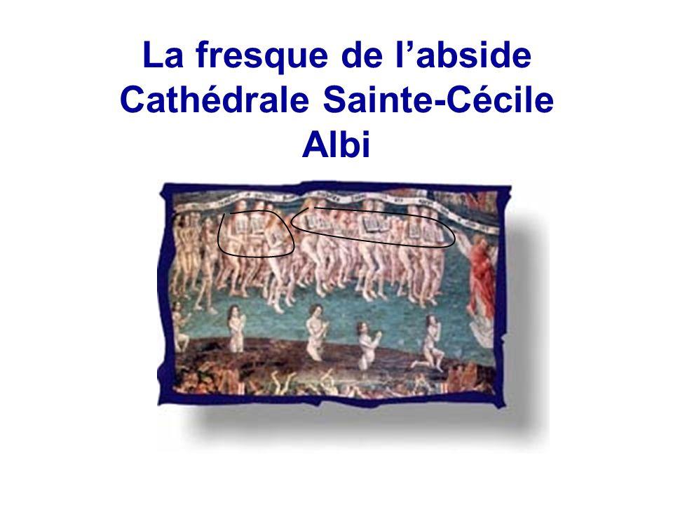 La fresque de labside Cathédrale Sainte-Cécile Albi