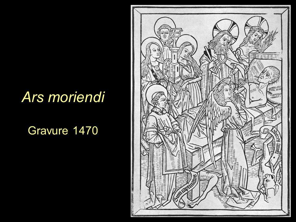 Ars moriendi Gravure 1470