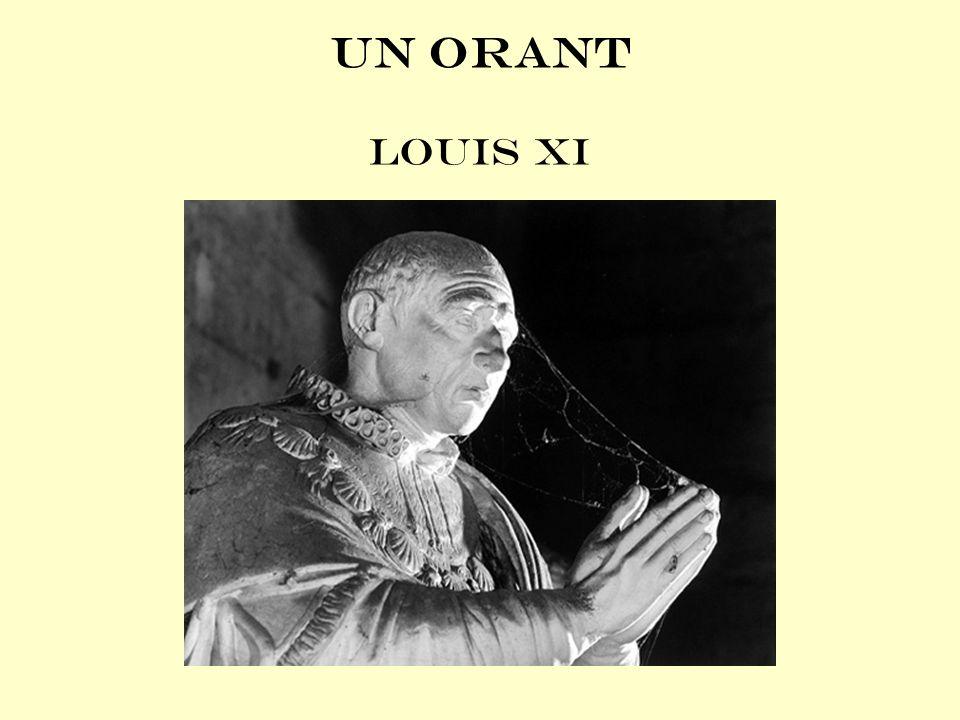 Un orant Louis XI