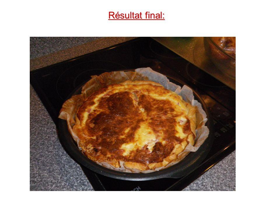 Etape 7: Mettre le plat dans le four, préchauffé à 190°C Th.6 pendant 35 à 40 minutes.