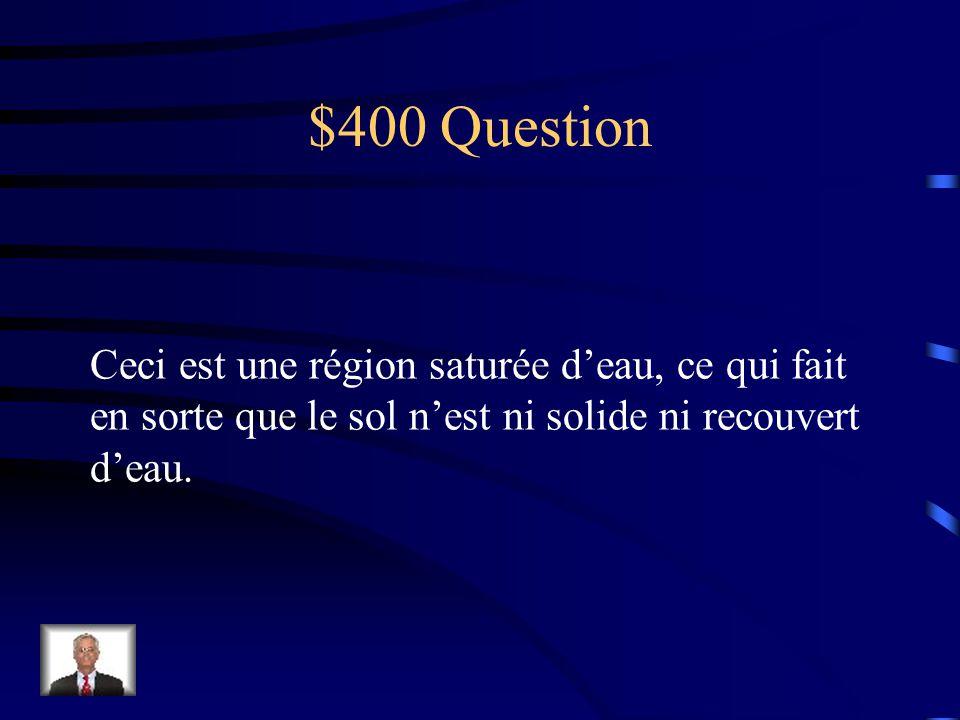 $300 réponse Une Baie