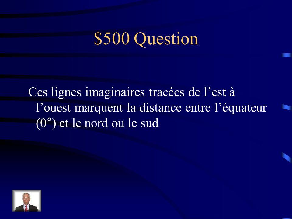 $400 réponse Saint Pierre et Miquelon