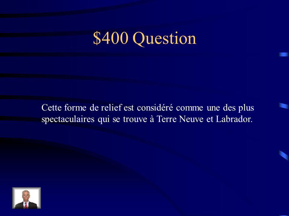 $300 réponse Une région
