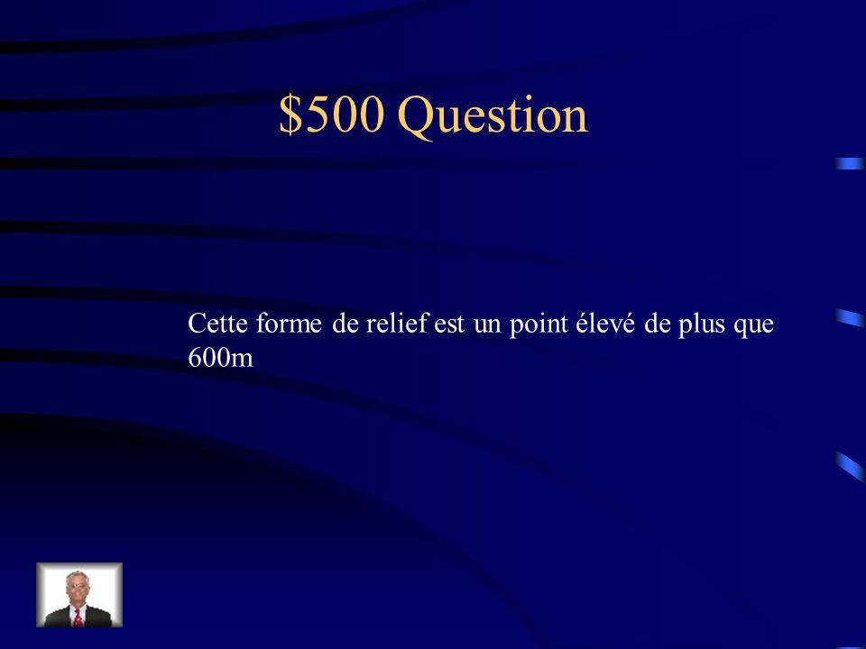 $400 réponse Les Fjords