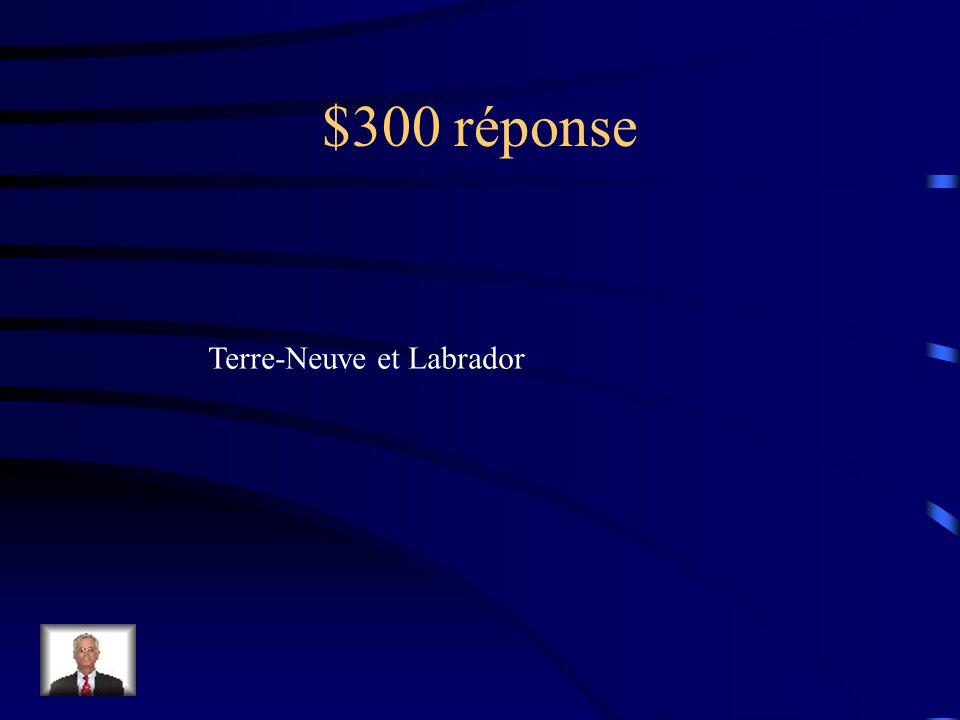 $300 réponse LÉquateur