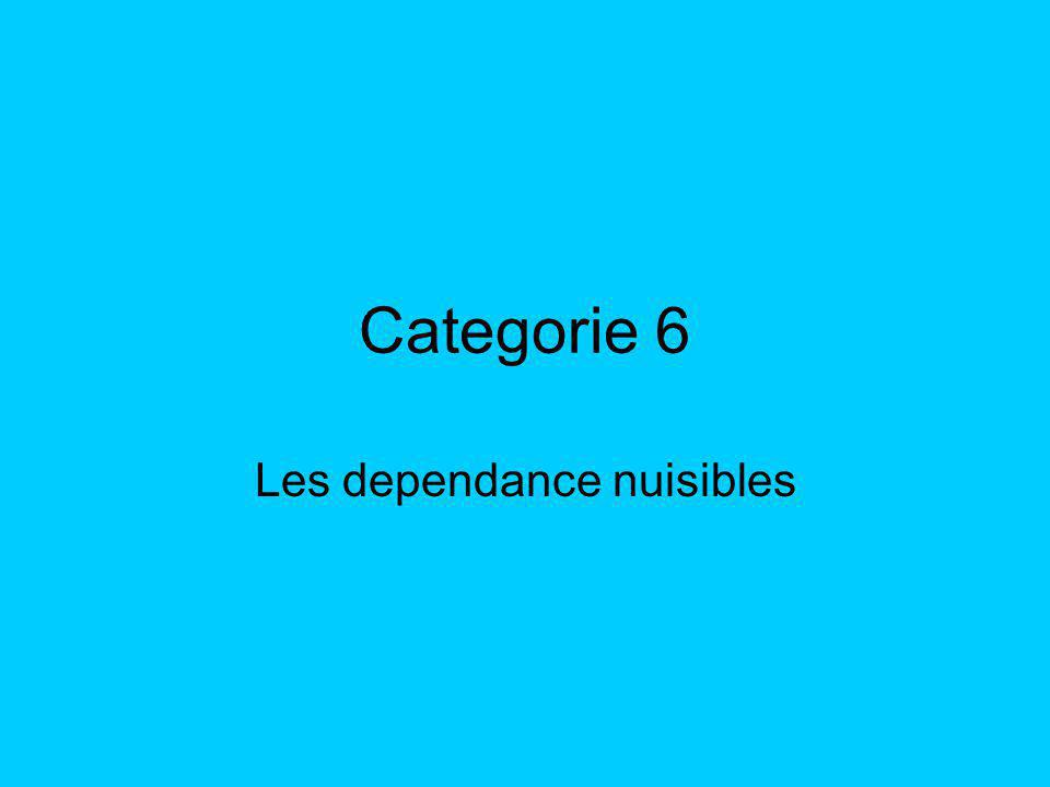 Categorie 6 Les dependance nuisibles