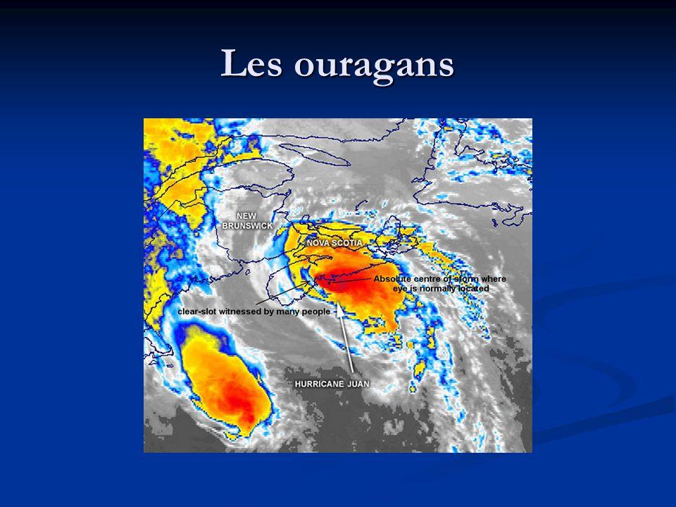 Les ouragans