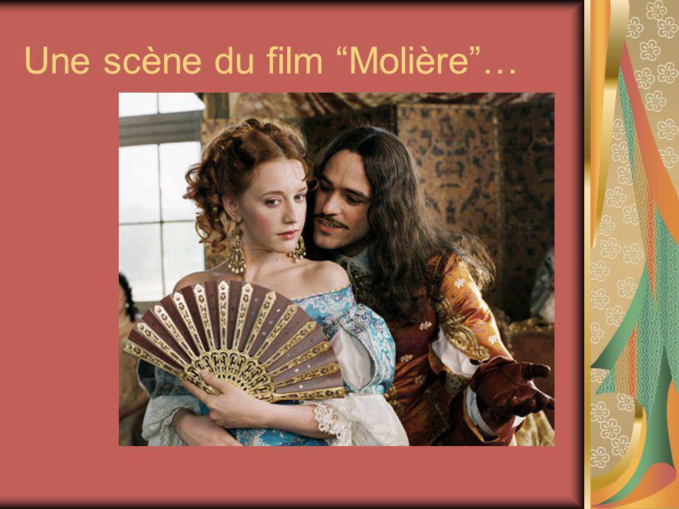 Une scène du film Molière…