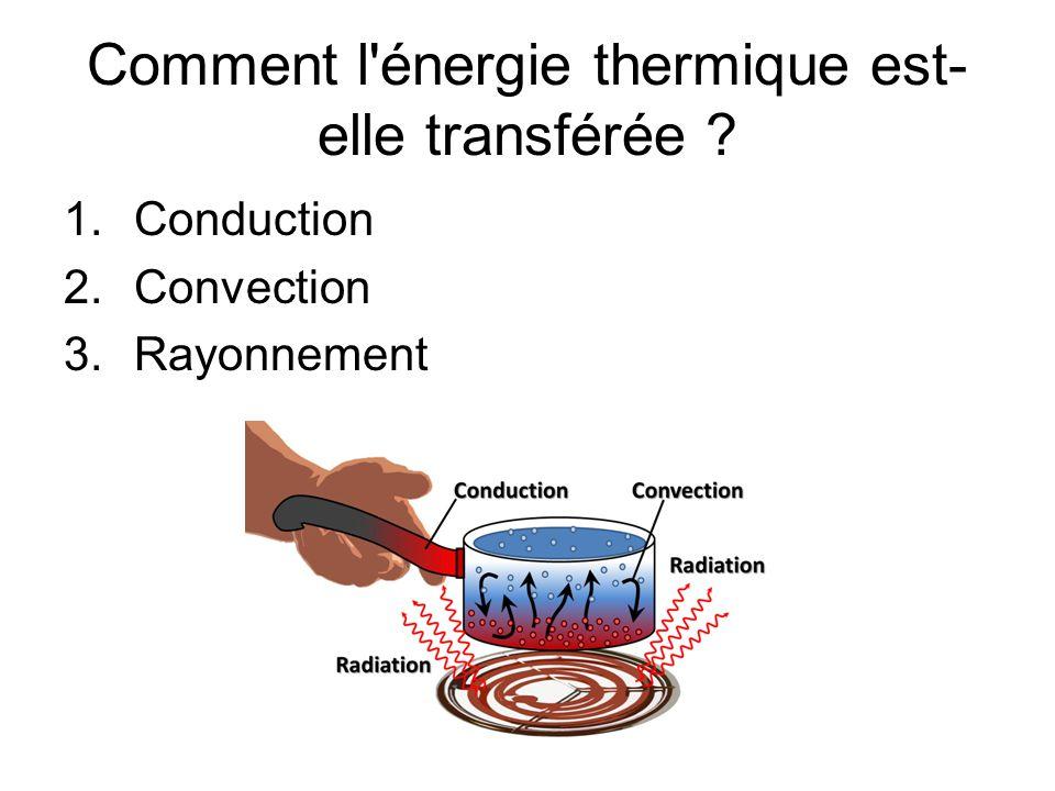 Questions à répondre – en phrases complètes.1.Quelle est lénergie thermique.