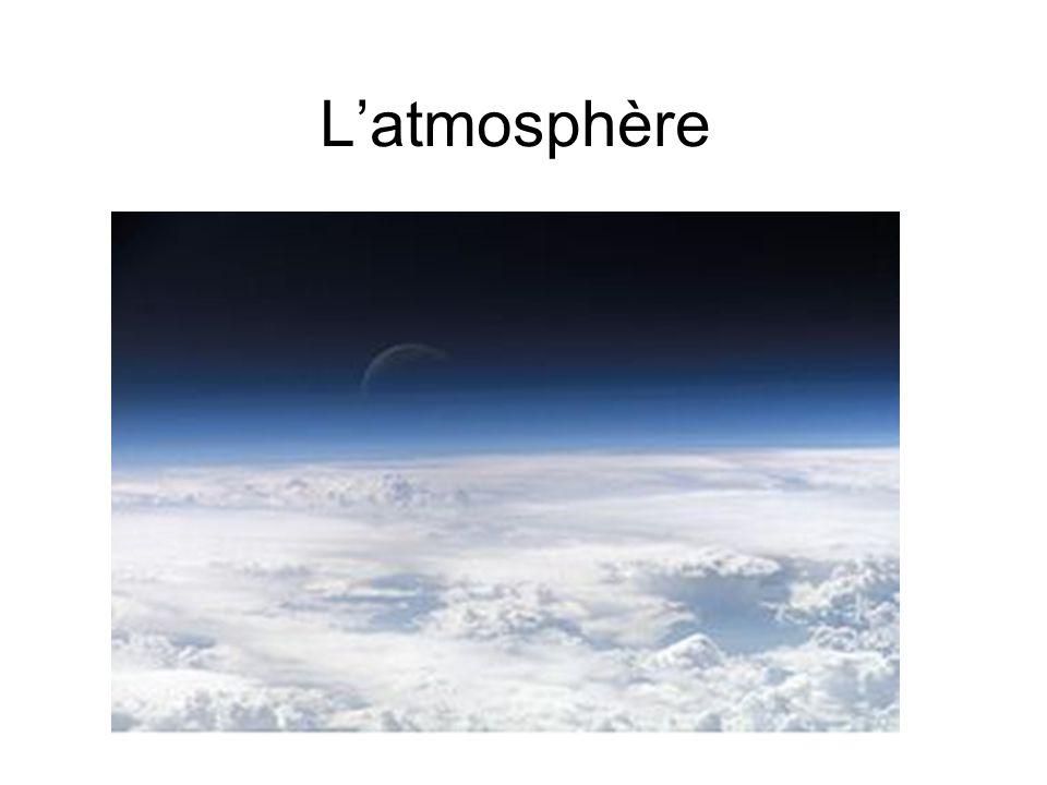 Quelle est latmosphère.
