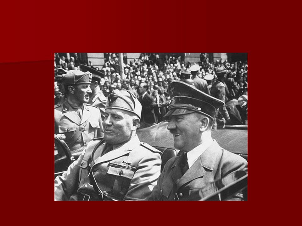 La Societe des Nations adopte une politique dapaisement envers Hitler La Societe des Nations adopte une politique dapaisement envers Hitler Les accords de Munich (1938) Les accords de Munich (1938) –Entente conclue entre lAllemagne, la GB, la France et lItalie prévoyant la cession de la Tchécoslovaquie à lAllemagne –Hitler sengage à ne plus formuler de nouvelles exigences territoriales en Europe