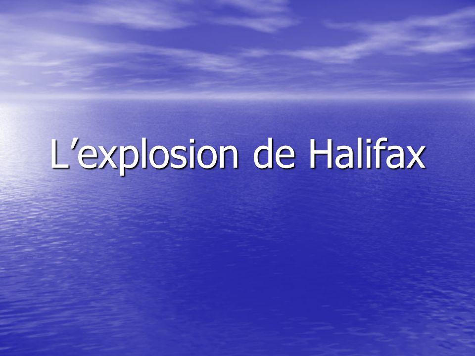 Lexplosion de Halifax