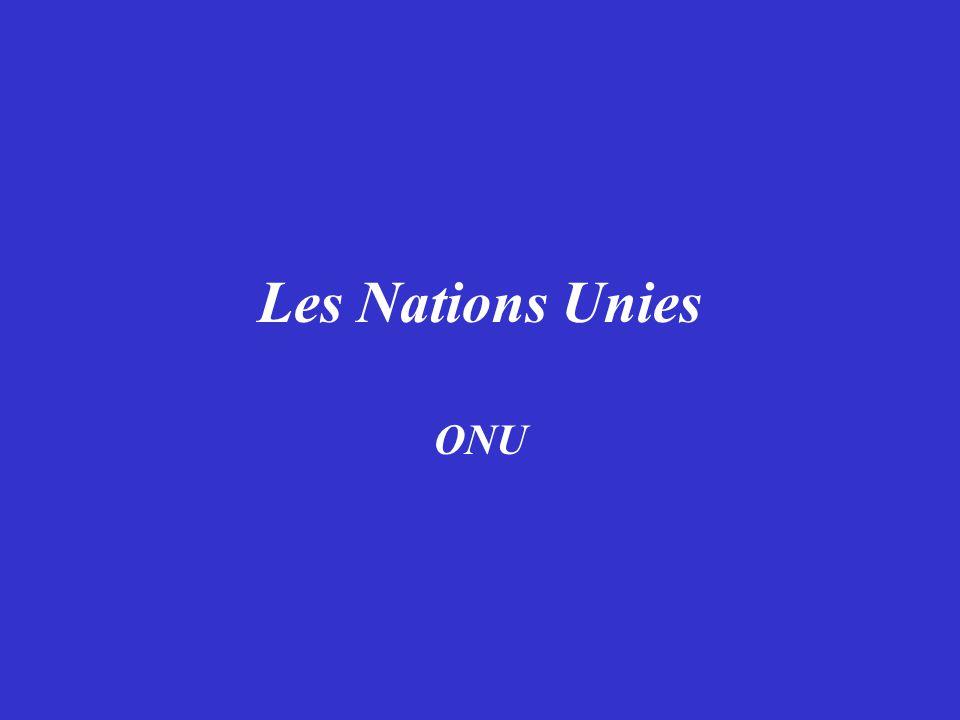 Le Logo des Nations Unies Que représente- il.