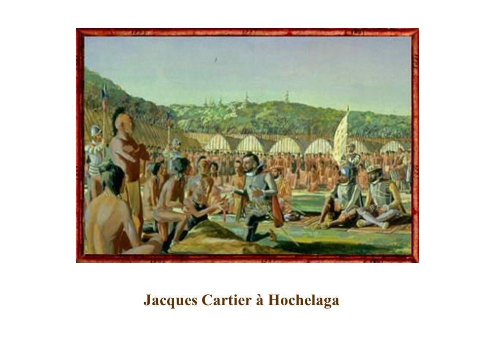Jacques Cartier à Hochelaga
