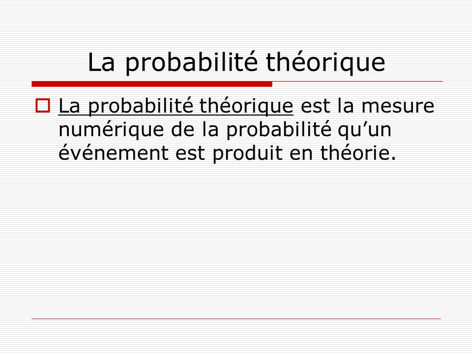 Méthode #1 1.Tu peux illustrer des événements composés à laide dun diagramme en arbre qui montre les probabilités de tous les résultats possibles.