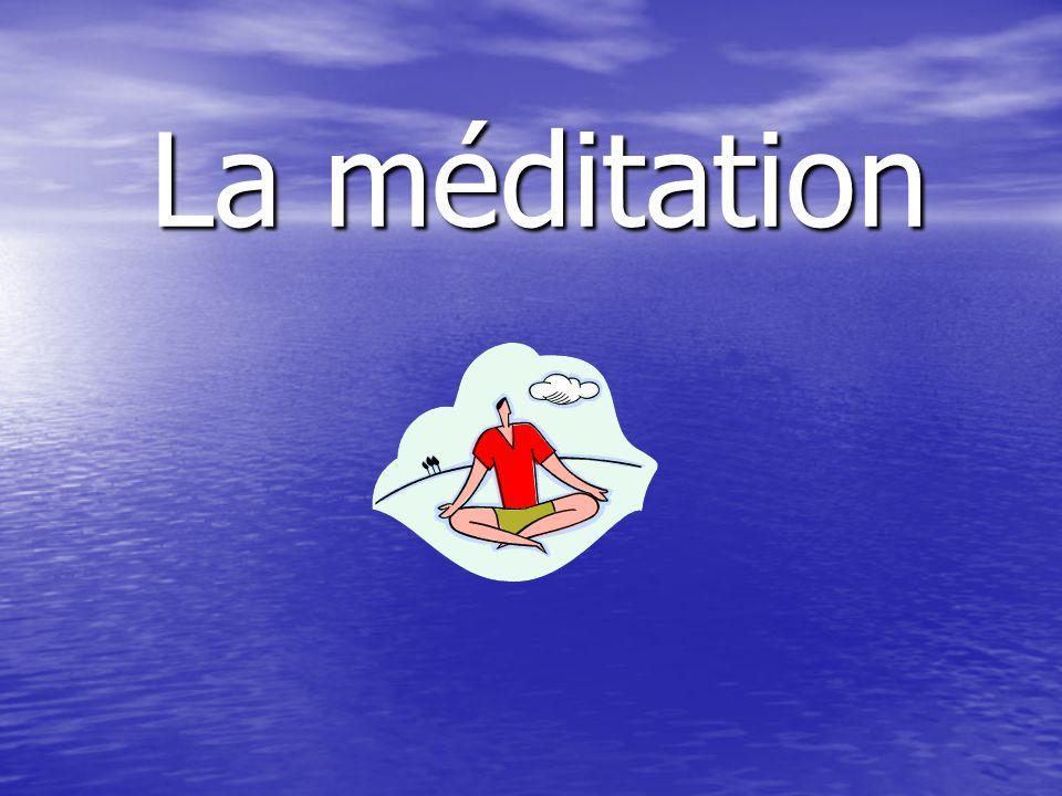 Cest quoi la méditation.