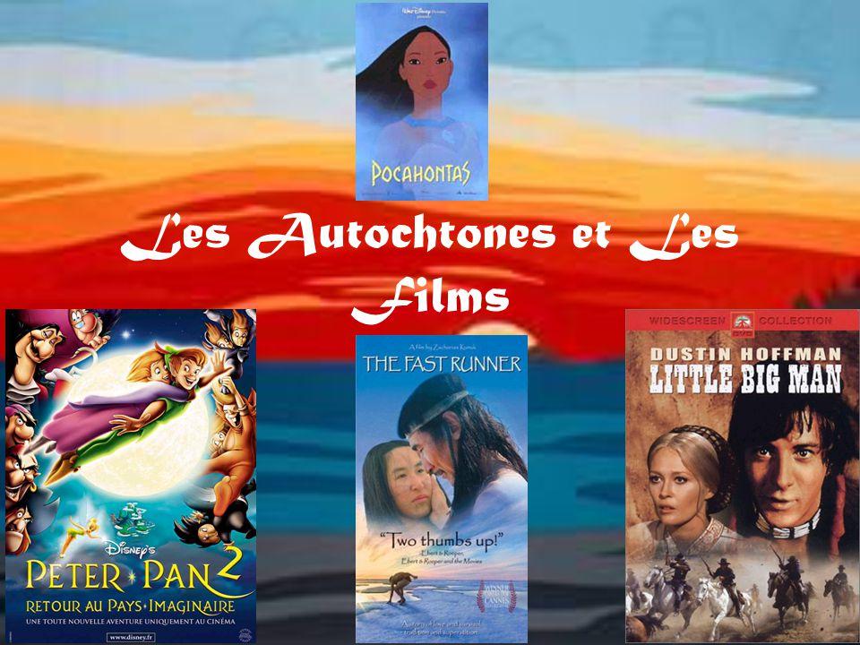 Le Passé Pocahontas, Peter Pan, Little Big Man Ils sont montrés presque exclusivement dans les films historiques.