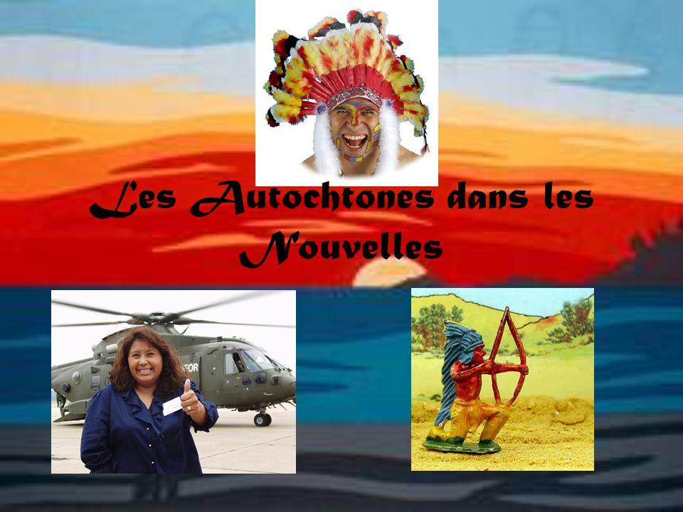Les Autochtones dans les Nouvelles
