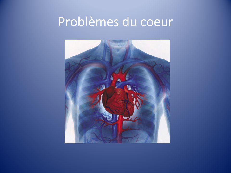 Arthérosclérose Les dépôts graisseux saccumulent à lintérieur des artères La diamètre des artères est réduit Les turbulences du flux sanguin peuvent causer langine de poitrine ou un caillot