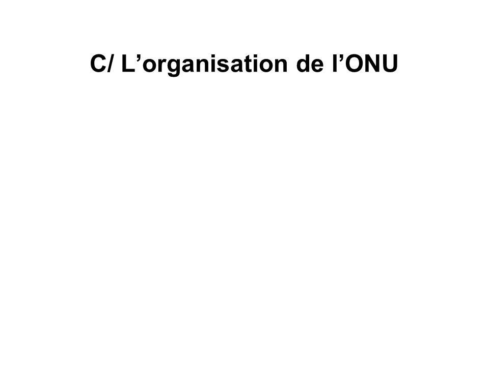 C/ Lorganisation de lONU