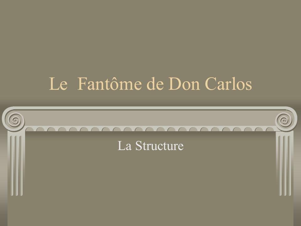 Le Fantôme de Don Carlos La Structure