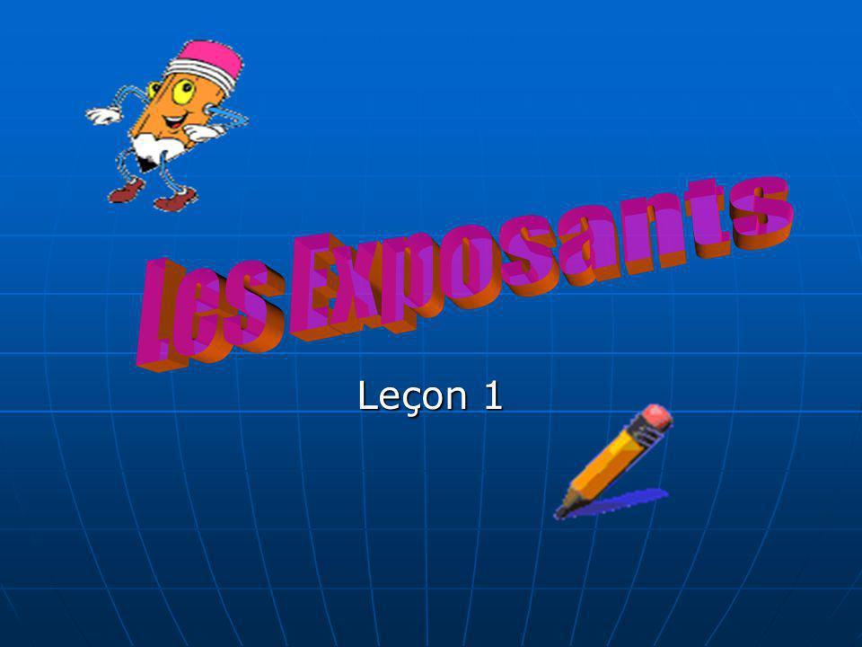 Leçon 1