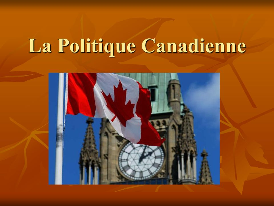 La Politique Canadienne