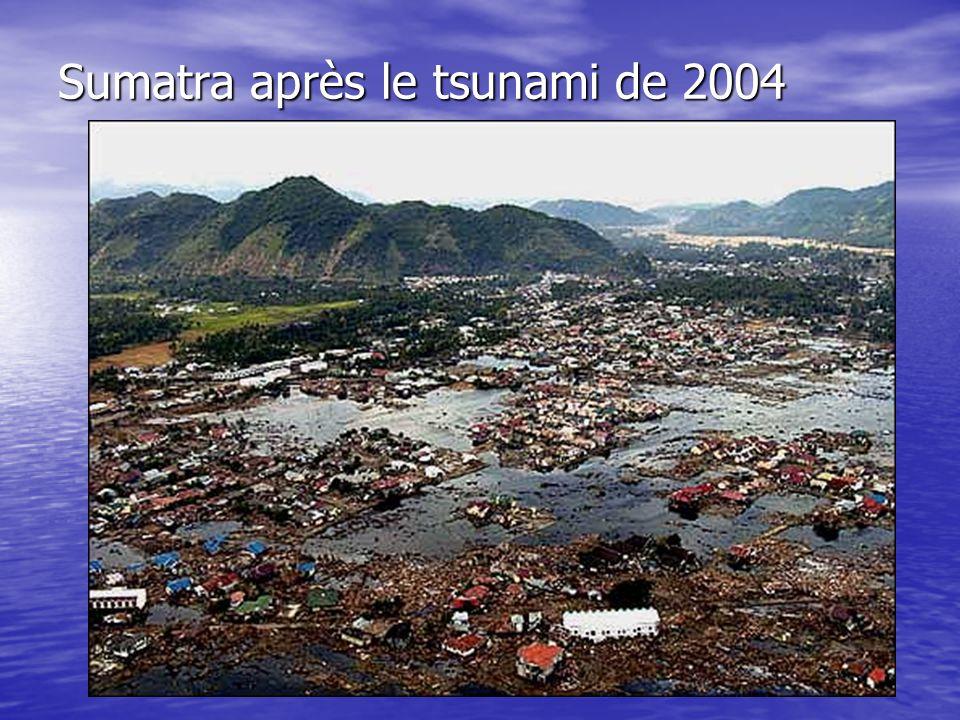 Sumatra après le tsunami de 2004