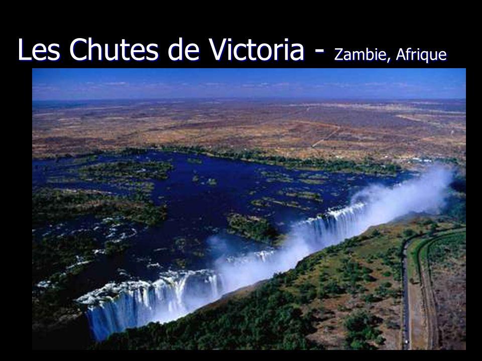 Les Chutes de Victoria - Zambie, Afrique