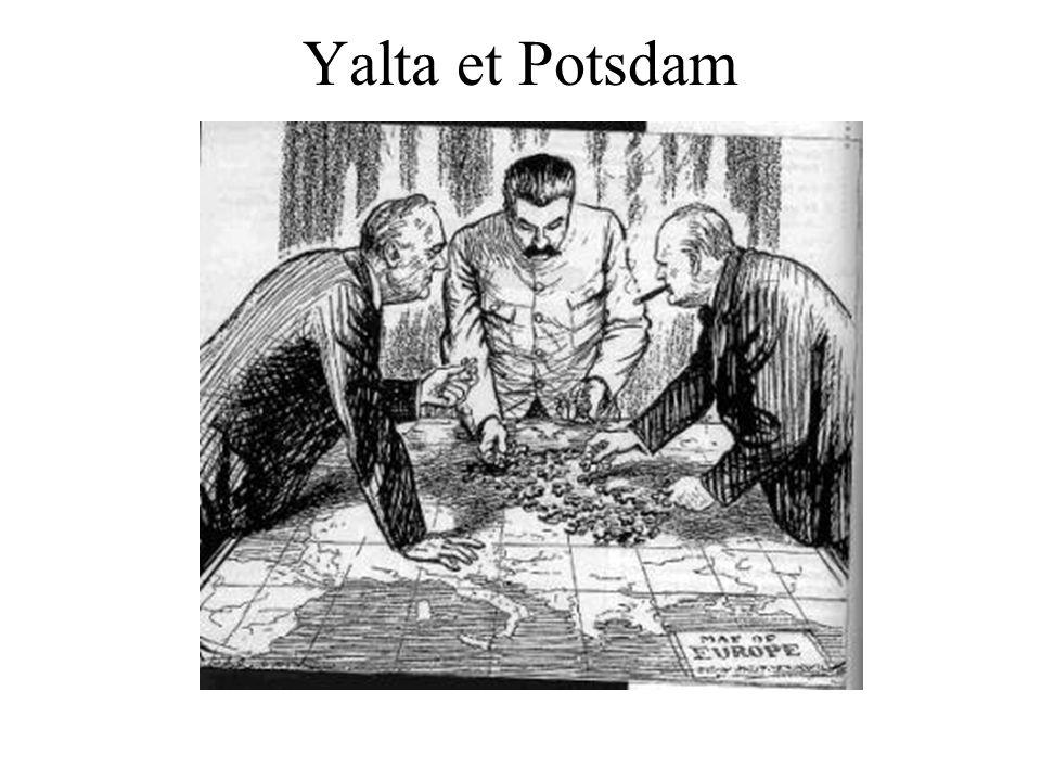 Yalta et Potsdam