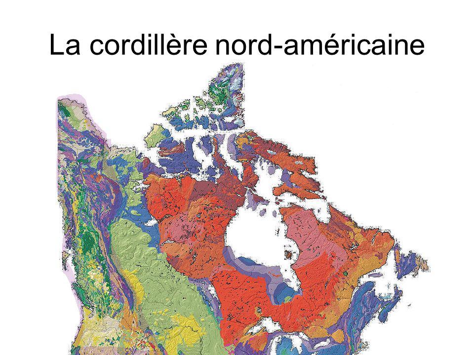 La cordillère nord-américaine