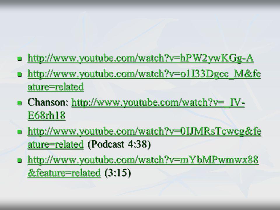 http://www.youtube.com/watch?v=hPW2ywKGg-A http://www.youtube.com/watch?v=hPW2ywKGg-A http://www.youtube.com/watch?v=hPW2ywKGg-A http://www.youtube.co
