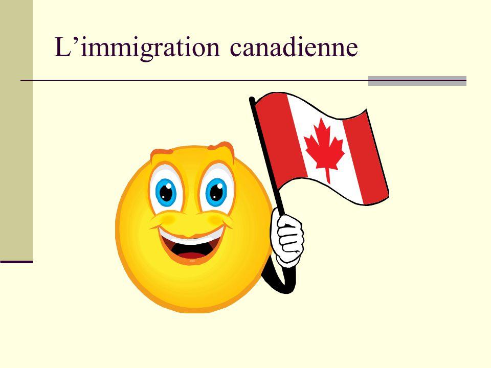 Chaque année, plus de 200 000 personnes peuvent entrer au Canada comme résident permanent.