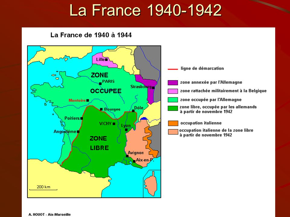 La France 1940-1942