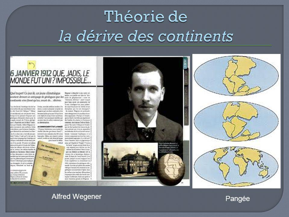 Alfred Wegener Pangée