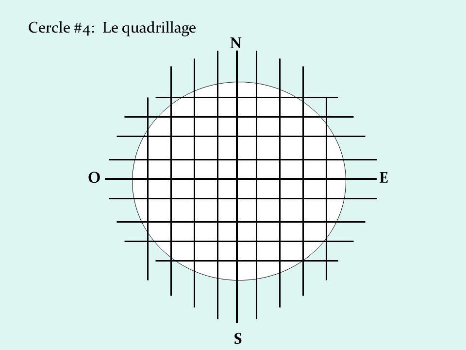 Cercle #4: Le quadrillage N S OE