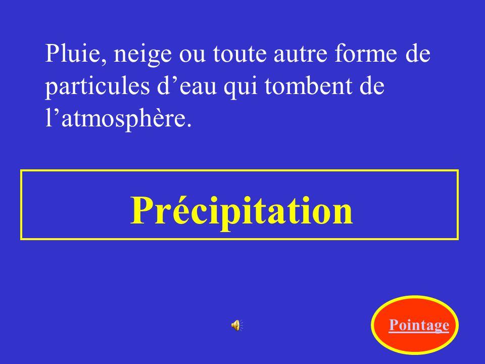 Conditions de latmosphère durant une courte période. temps