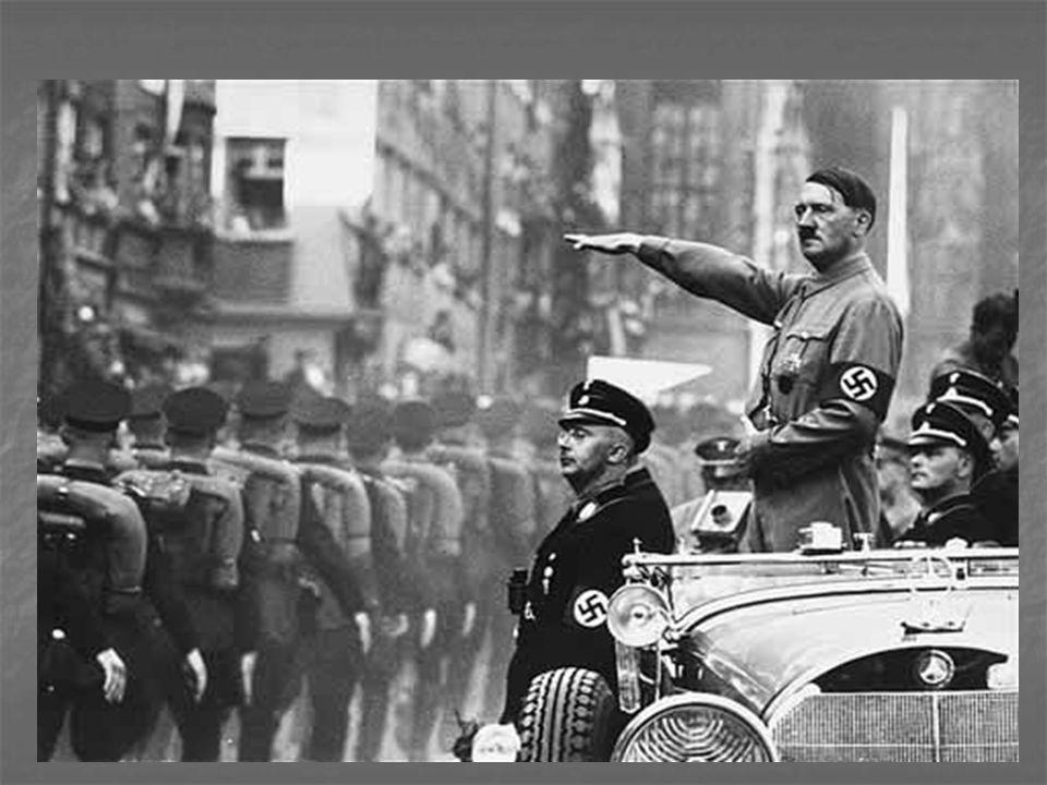 Les Nazis Le NSDAP (Nationalsozialistisch e Deutsche Arbeiterpartei, Parti national-socialiste des travailleurs allemands) Ils étaient en pouvoir en Allemagne de 1933 à 1945.
