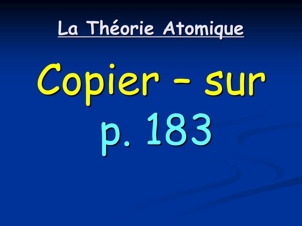 La Théorie Atomique Copier – sur p. 183