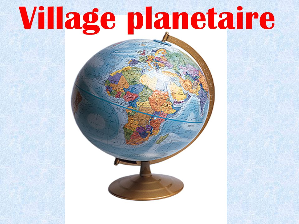 Village planetaire