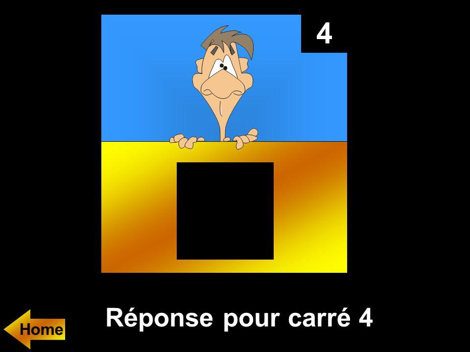 4 Réponse pour carré 4