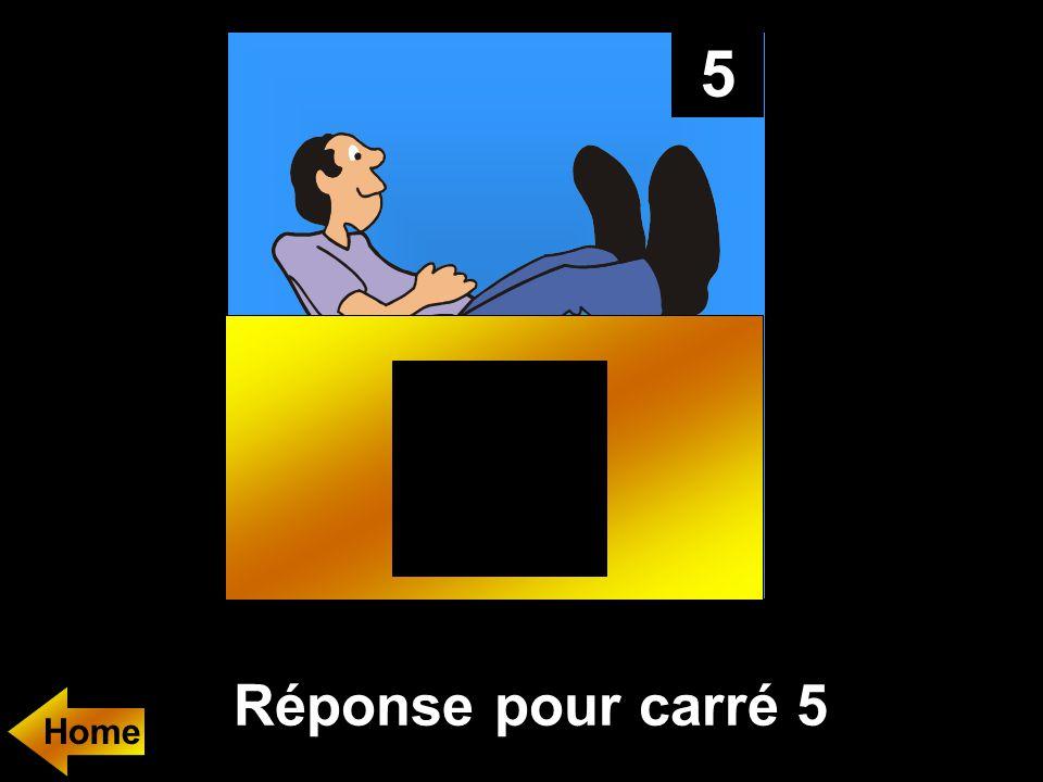 5 Réponse pour carré 5